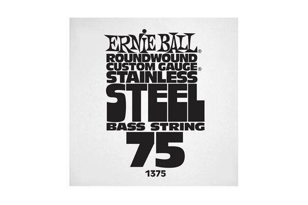 Ernie Ball - 1375 Stainless Steel Wound Bass .075