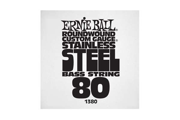 Ernie Ball - 1380 Stainless Steel Wound Bass .080