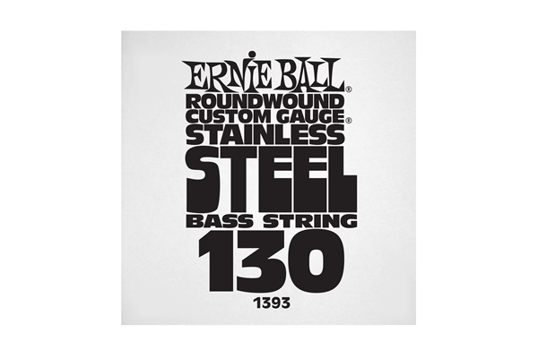 Ernie Ball - 1393 Stainless Steel Wound Bass .130