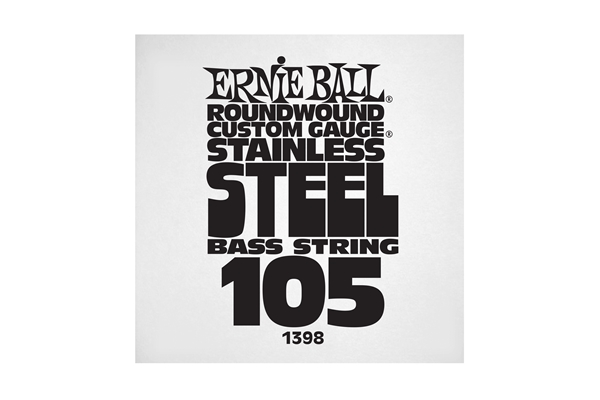 Ernie Ball - 1398 Stainless Steel Wound Bass .105