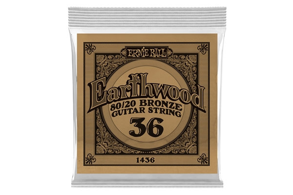 Ernie Ball - 1436 Earthwood 80/20 Bronze .036