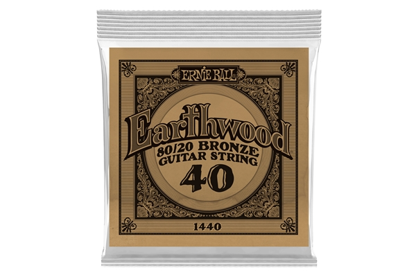 Ernie Ball - 1440 Earthwood 80/20 Bronze .040