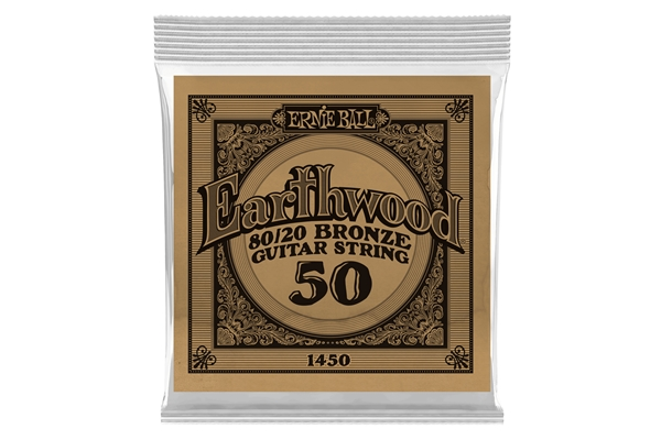Ernie Ball - 1450 Earthwood 80/20 Bronze .050