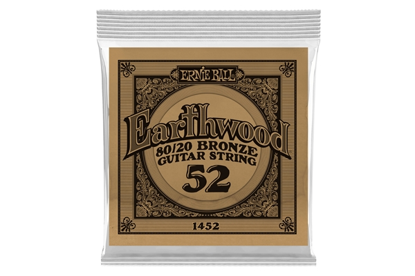 Ernie Ball - 1452 Earthwood 80/20 Bronze .052