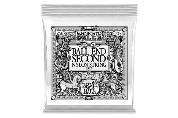 Ernie Ball - 1522 Ernesto Palla Black 2ª Ball End .032 - 6 Pezzi