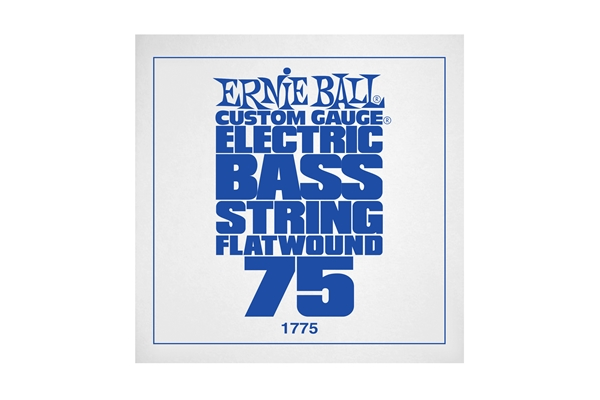 Ernie Ball - 1775 Steel Flatwound Bass .075