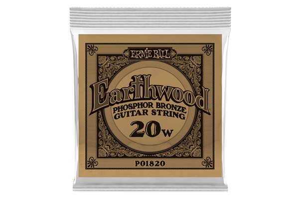 Ernie Ball - 1820 Earthwood Phospor Bronze .020