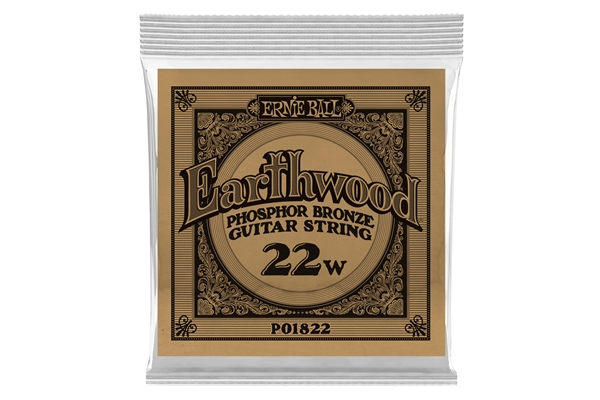 Ernie Ball - 1822 Earthwood Phospor Bronze .022
