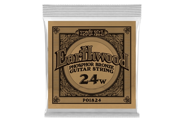 Ernie Ball - 1824 Earthwood Phospor Bronze .024