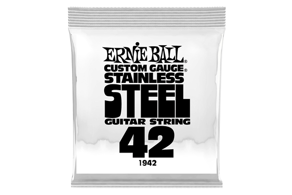Ernie Ball - 1942 Stainless Steel Wound .042