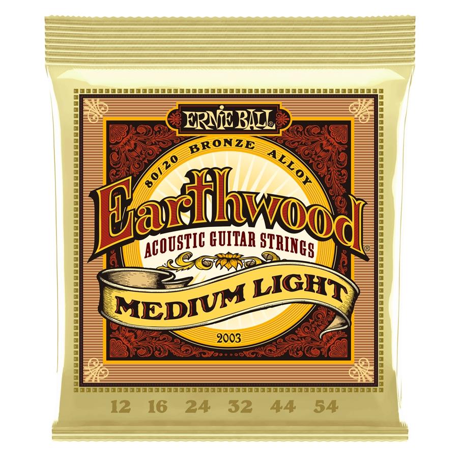 Corde Ernie Ball Earthwood Medium Light, 0.12 – 0.54 2003