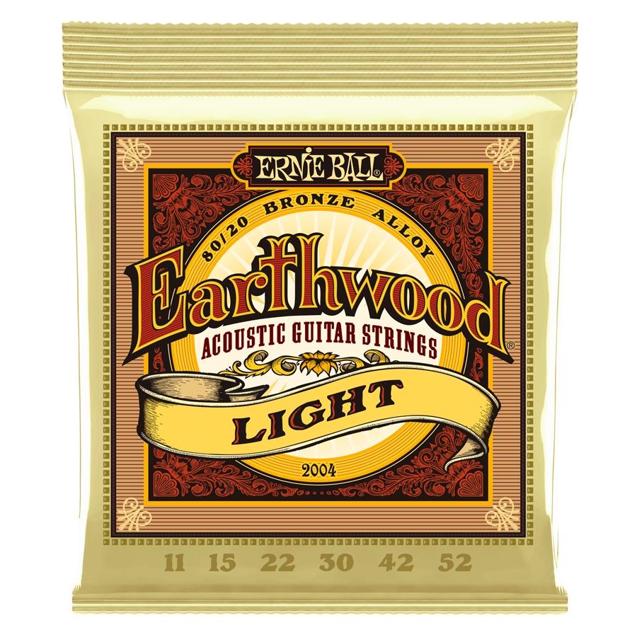 Corde Ernie Ball Earthwood Light, 0.11 – 0.52 2004