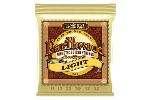 Ernie Ball - 2004 Earthwood 80/20 Bronze Light 11-52