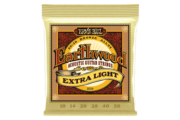 Ernie Ball - 2006 Earthwood 80/20 Bronze Extra Light 10-50