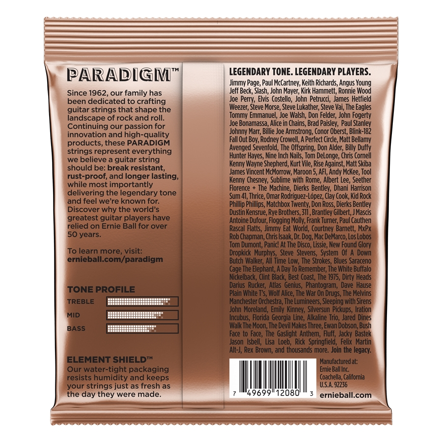 2080 Paradigm Phosphor Bronze Extra Light 10-50
