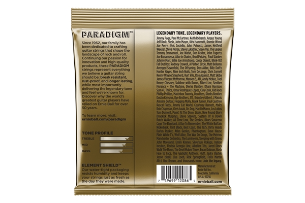 Ernie Ball - 2086 Paradigm 80/20 Bronze Medium Light 12-54