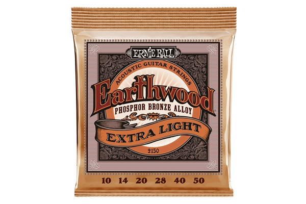 2150 Earthwood Phosphor Bronze Extra Light 10-50