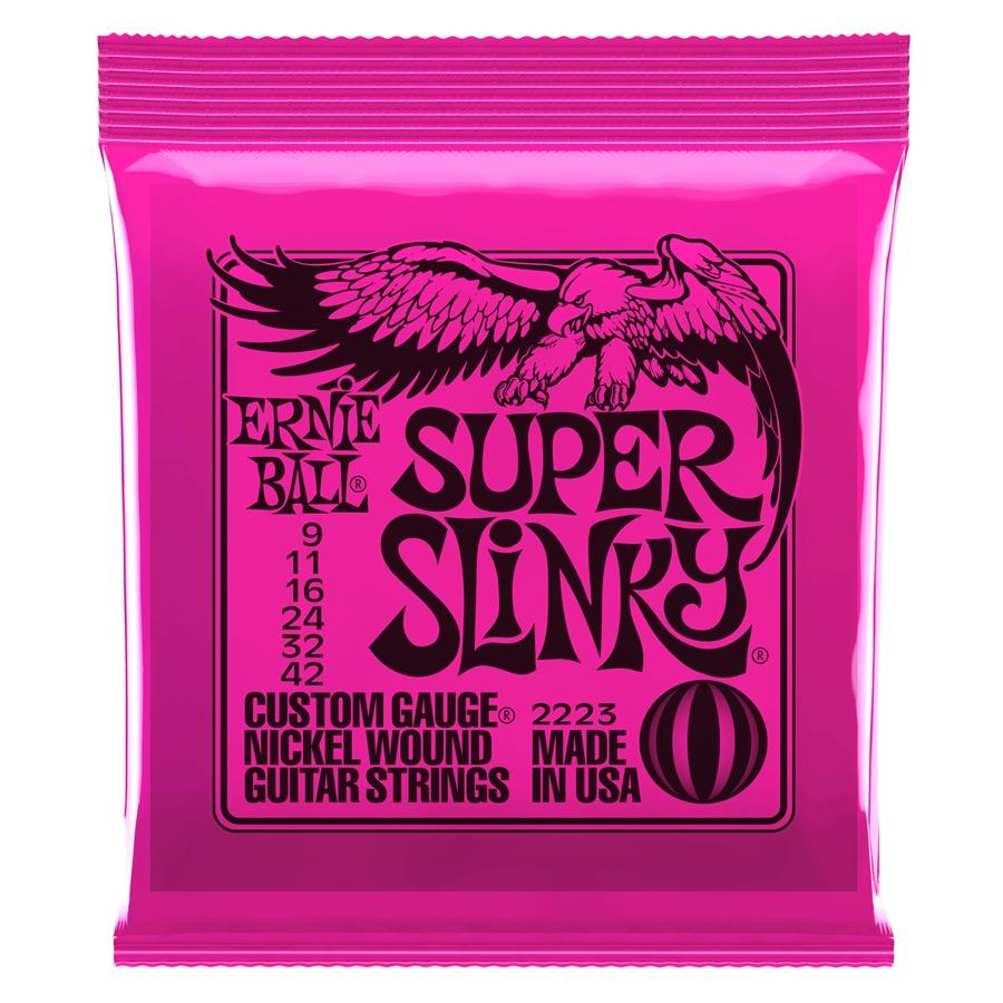 Ernie Ball Super Slinky .009 – .042 2223
