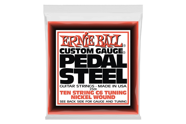 Ernie Ball - 2501 Pedal Steel Nickel Wound C6 Tuning