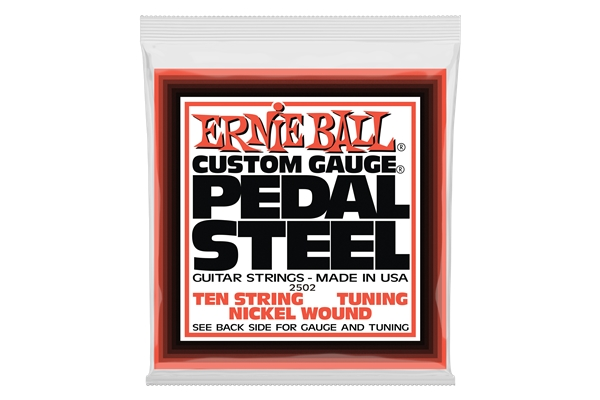 Ernie Ball - 2502 Pedal Steel Nickel Wound E9 Tuning