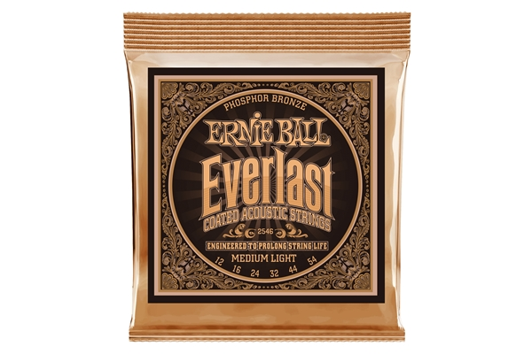 Ernie Ball - 2546 Everlast Coated Phosphor Bronze Medium Light 12-54