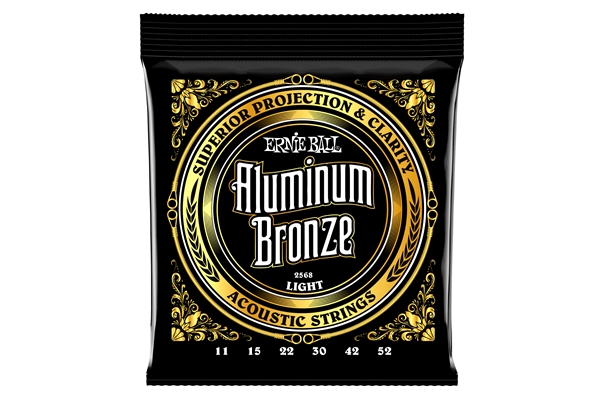 Ernie Ball - 2568 Aluminum Bronze Light 11-52