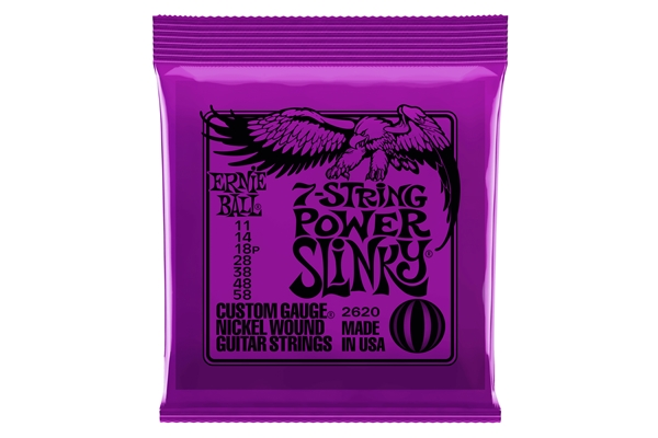 Ernie Ball - 2620 Nickel Wound Power Slinky 11-58