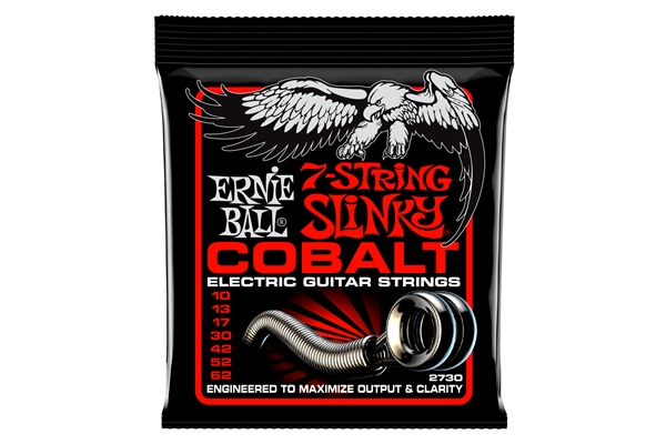 Ernie Ball - 2730 Cobalt Skinny Top Heavy Bottom Slinky 10-62