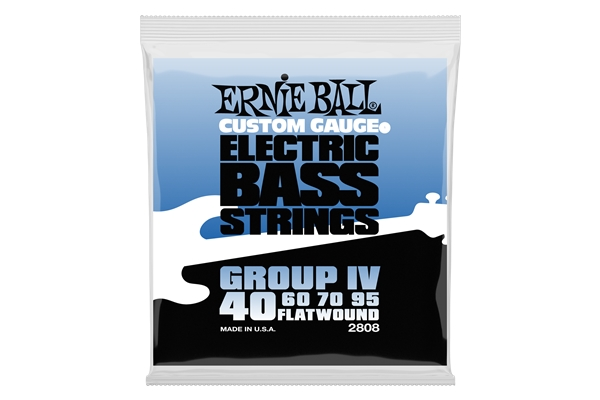 Ernie Ball - 2808 Flatwound Group IV 40-95
