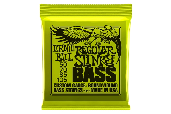 Ernie Ball - 2832 Nickel Wound Regular Slinky 50-105