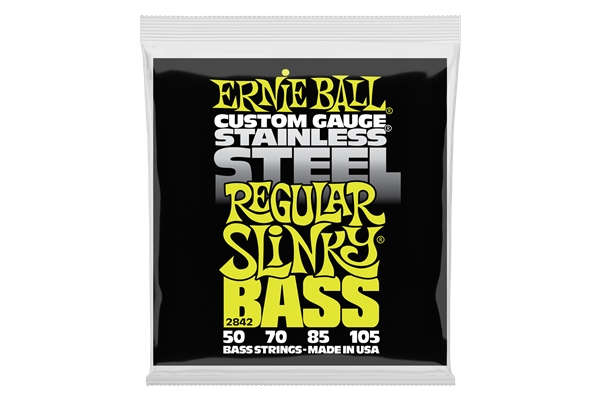 Ernie Ball 2842 Regular Slinky Stainless Steel 50-105