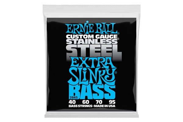 Ernie Ball 2845 Extra Slinky Stainless Steel 40-95