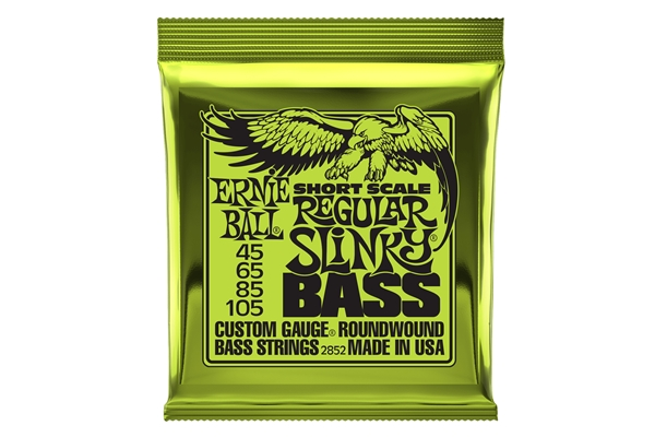 Ernie Ball - 2852 Nickel Wound Scala Corta Regular 45-105