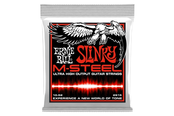 Ernie Ball - 2915 M-Steel Skinny Top Heavy Bottom Slinky 10-52