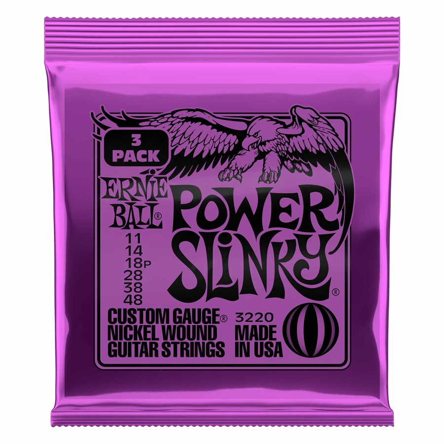 3220 Nickel Wound Power Slinky 11-48