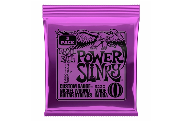 Ernie Ball - 3220 Nickel Wound Power Slinky 11-48