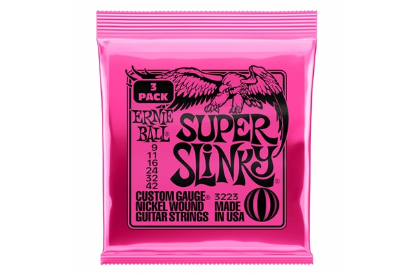 Ernie Ball - 3223 Nickel Wound Super Slinky 9-42