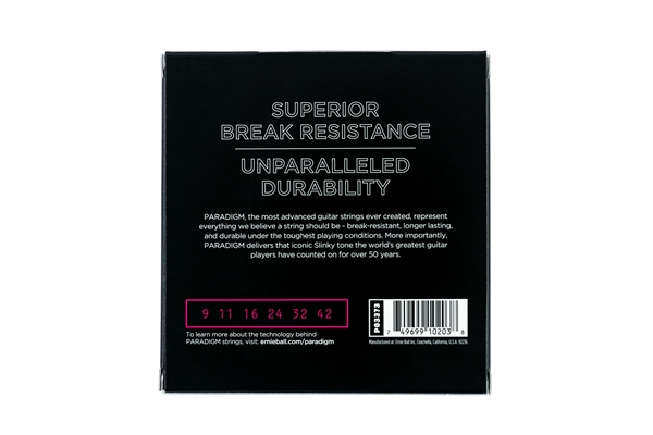 Ernie Ball - 3373 Paradigm Super Slinky 9-42 Gauge 3 Pack
