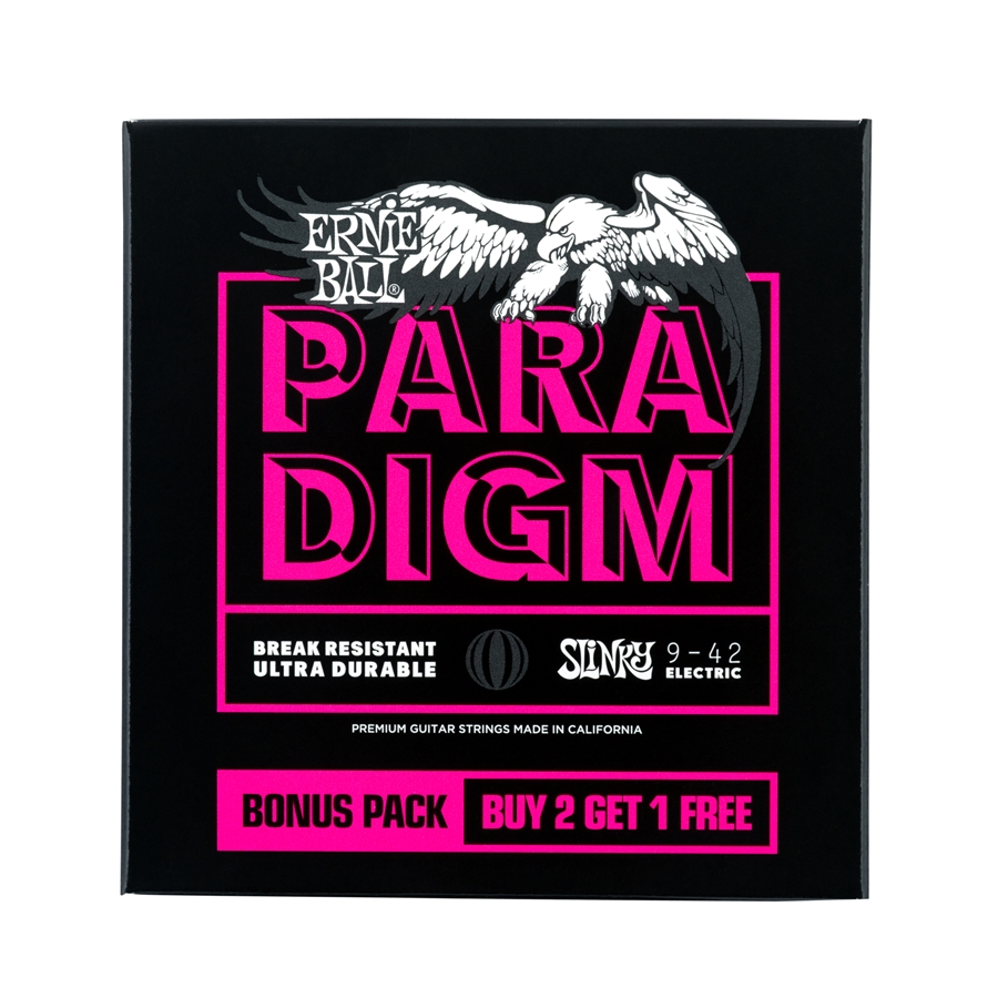 3373 Paradigm Super Slinky 9-42 Gauge 3 Pack