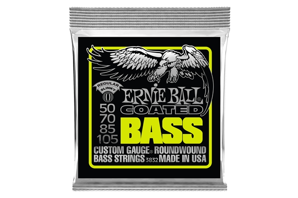 Ernie Ball 3832 Regular Slinky Coated 50-105