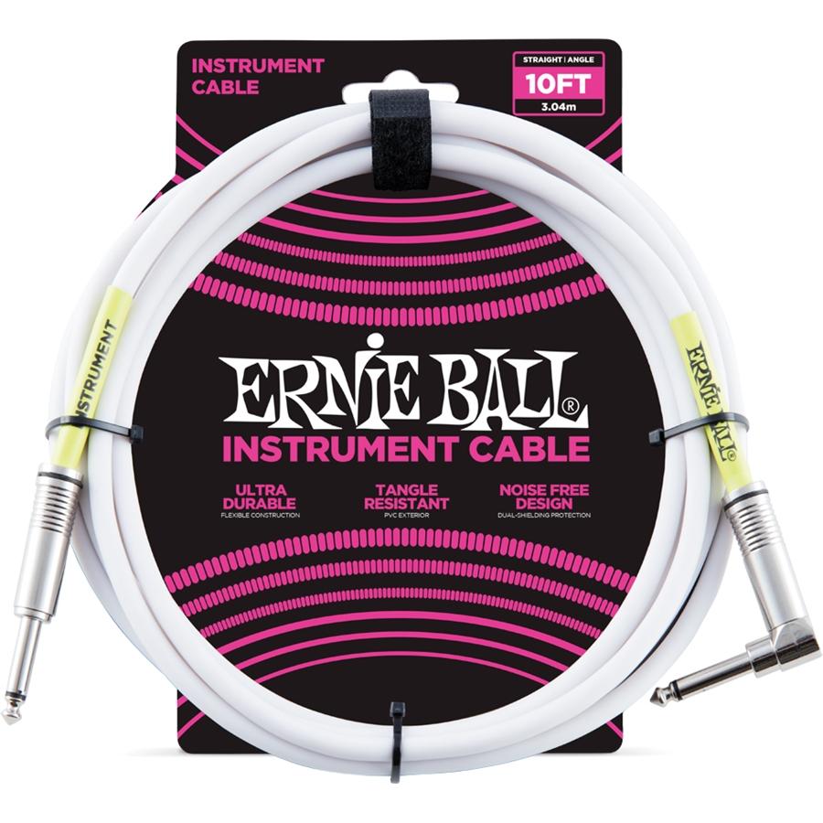 Cavo jack Ernie Ball, dritto/angolato 3mt. P06049