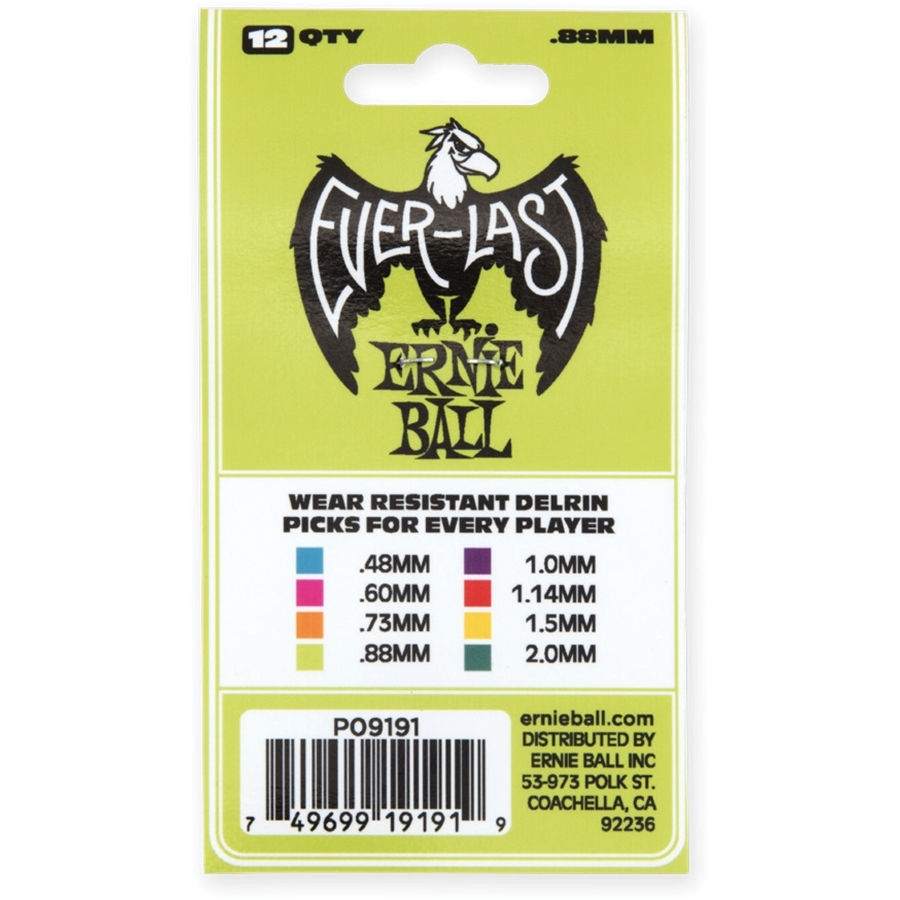 Plettri Everlast Heavy 0.88mm Busta da 12