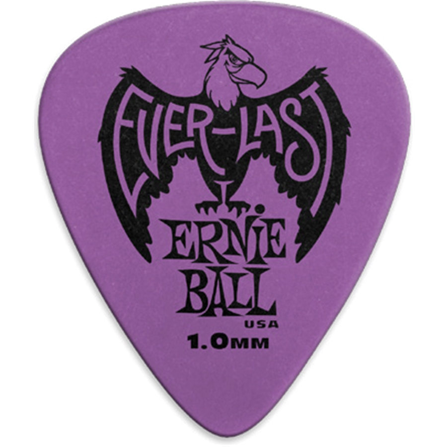9193 Plettri Everlast Purple 1.00mm Busta da 12
