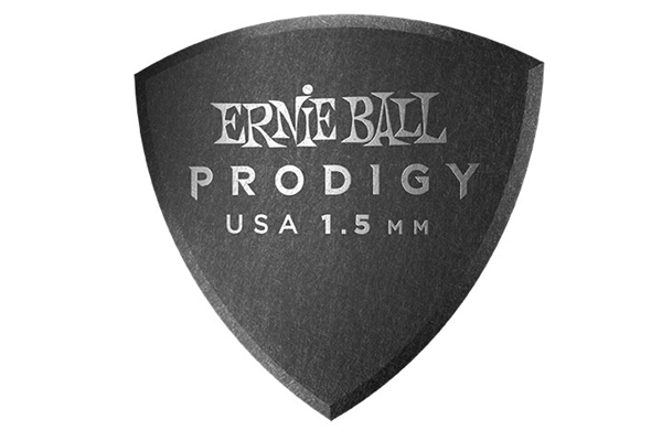 Ernie Ball - 9332 Plettri Prodigy Large Black 1,5mm Busta 6