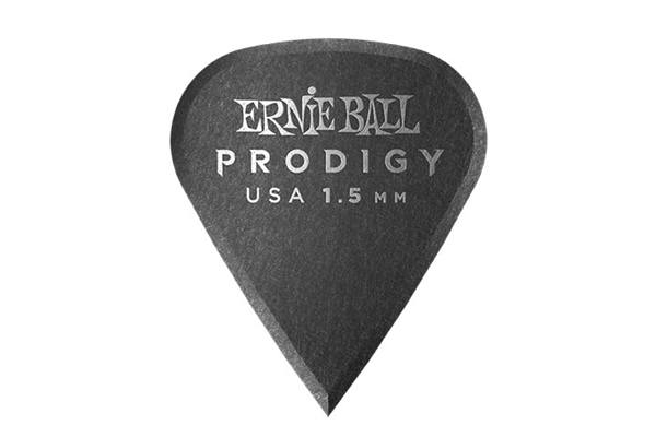Ernie Ball - 9335 Plettri Prodigy Sharp Black 1,5mm Busta 6