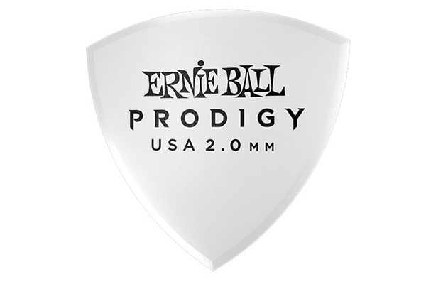 Ernie Ball - 9338 Plettri Prodigy Large White 2,0mm Busta 6