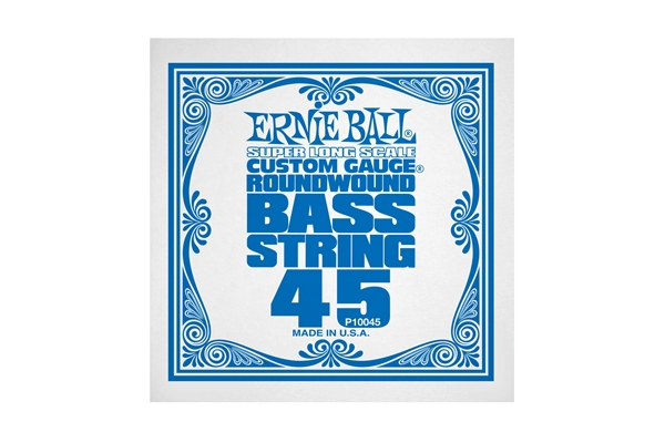 Ernie Ball - 0045 Nickel Wound Bass Scala Super Lunga .045