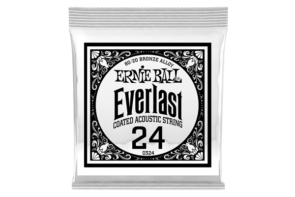 Ernie Ball - 0324 Everlast Coated 80/20 Bronze .024