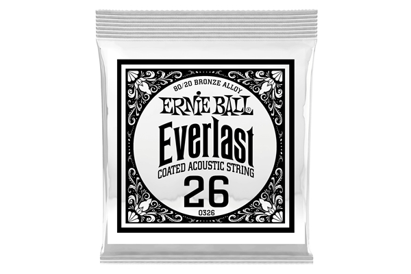 Ernie Ball - 0326 Everlast Coated 80/20 Bronze .026