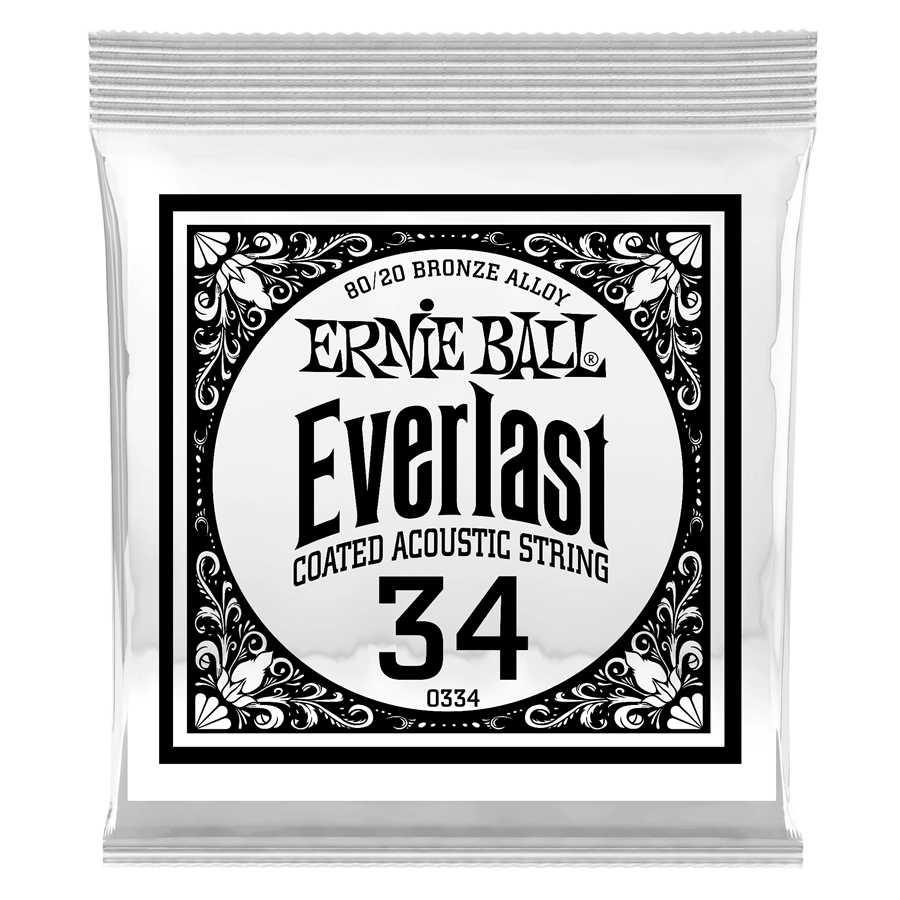 0334 Everlast Coated 80/20 Bronze .034